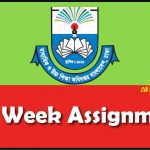 5th Week Assignment Answer